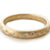 Modern, contemporary and unique handmade gold 12 diamond eternity ring, wedding ring, or engagement ring by Sue Lane Contemporary Jewellery, UK. Made to order.