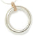 Contemporary Gold, Silver and Diamond Necklace (cir07) - Sue Lane Contemporary Jewellery - 1