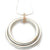 Contemporary Gold, Silver and Diamond Necklace (cir07) - Sue Lane Contemporary Jewellery - 4