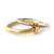 18k gold two band ring (rd18) - Sue Lane Contemporary Jewellery - 2