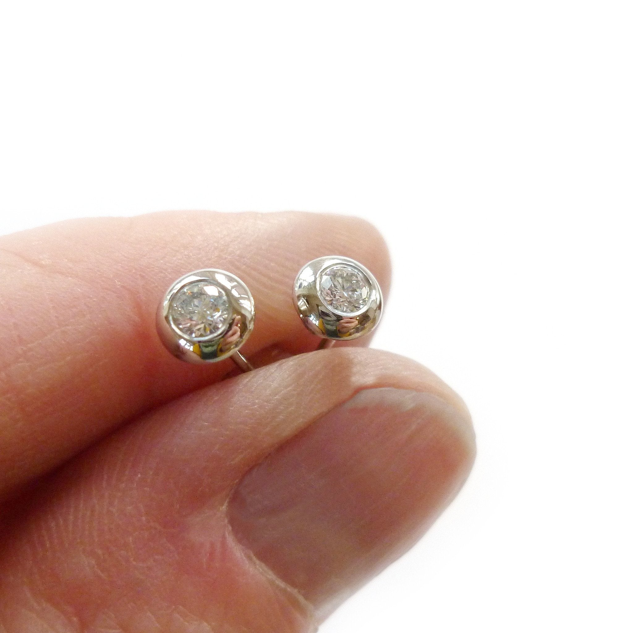 av earrings coloured earring se black silver crystal mm stud sterling austrian shop in jewellery