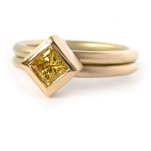 one off designer gold ring