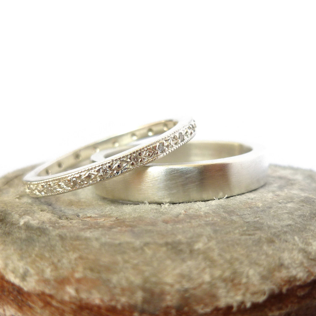 Silver and Diamond Ring (spr03)