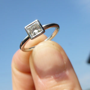 bespoke platinum ring