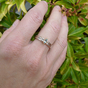 bespoke wedding ring handmade by Uk designer and maker