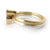 linked wedding ring and engagement ring by Sue Lane Contemporary Jewellery