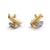 18ct gold diamond earrings