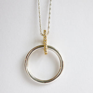 Handmade, unique, modern and contemporary necklace, pendant by Sue Lane, Herefordshire UK.