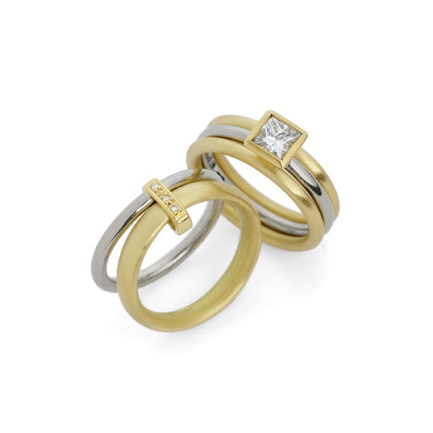 18k gold and diamond ring gr2s