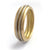 Sue Lane contemporary jewellery wedding ring 18ct yellow white gold Hereford