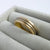 Sue Lane contemporary jewellery wedding ring 18ct yellow white gold uk