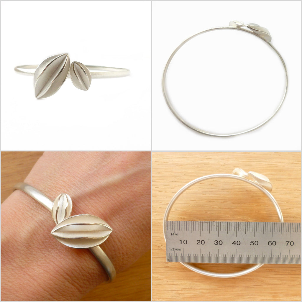 Silver Bangle (bn03)- previously £180