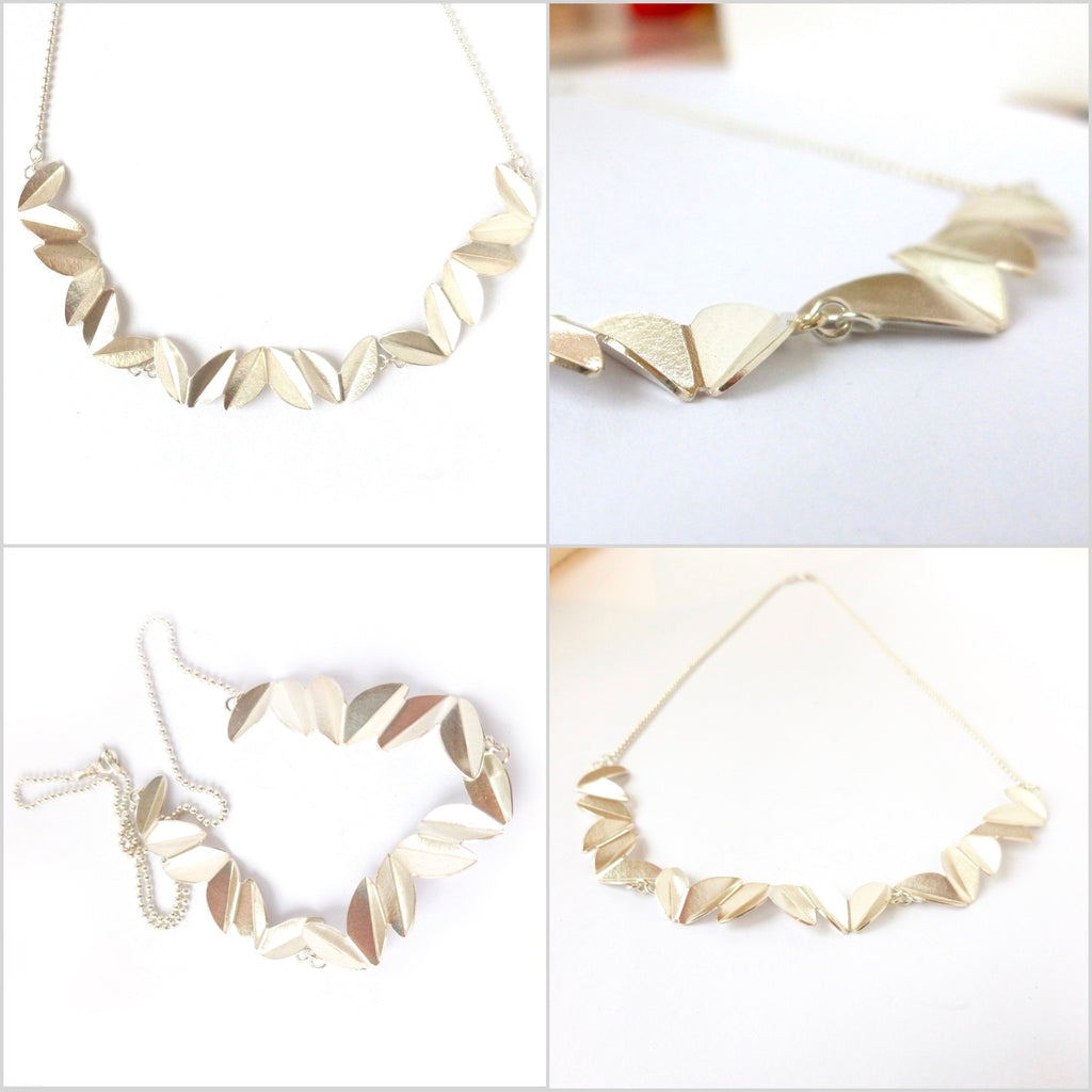 Silver chain necklace (sam10) previously £300
