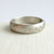 wide brushed palladium diamond ring contemporary handmade bespoke Sue Lane