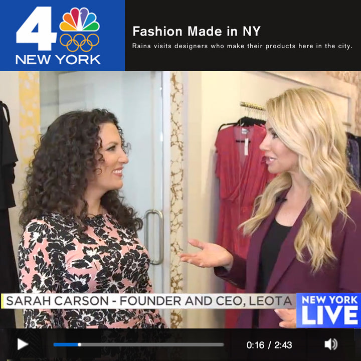 Leota featured on NY Live!
