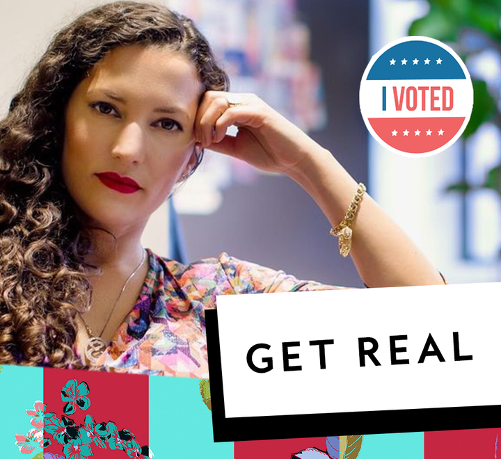 GET REAL: WHY I'M JOINING THE TIME TO VOTE EFFORT & YOU SHOULD TOO