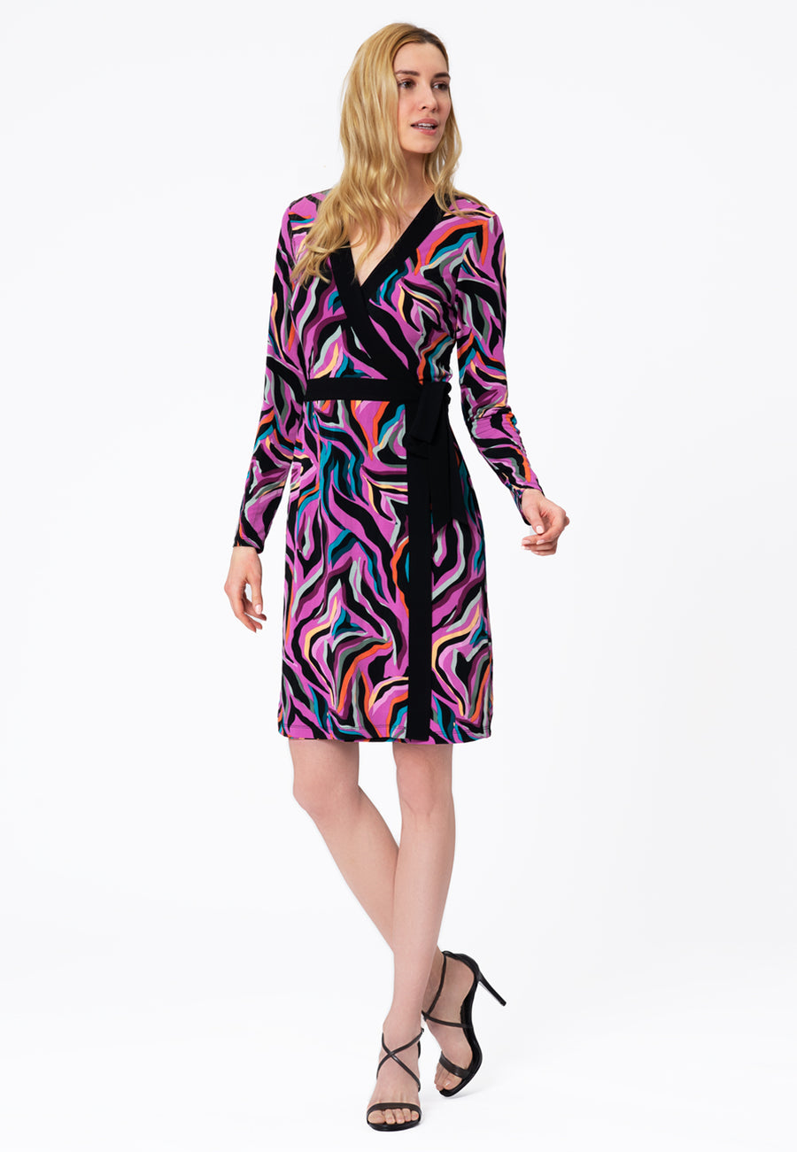 Leota Kara Dress in Vivacity Willowherb Front