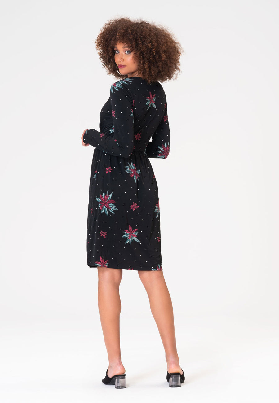 Sierra Dress in Wild Lily