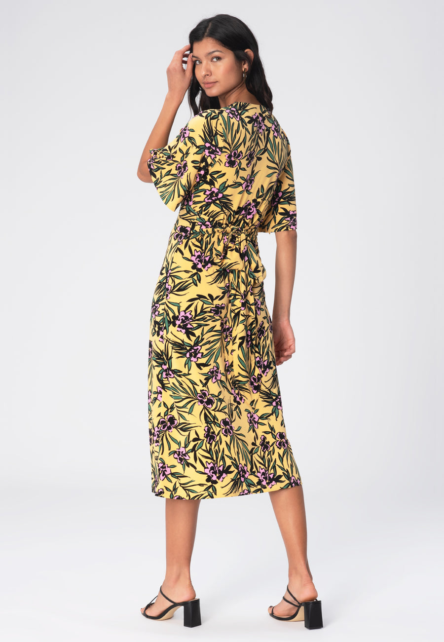 Lily Dress in Verano Buff Yellow