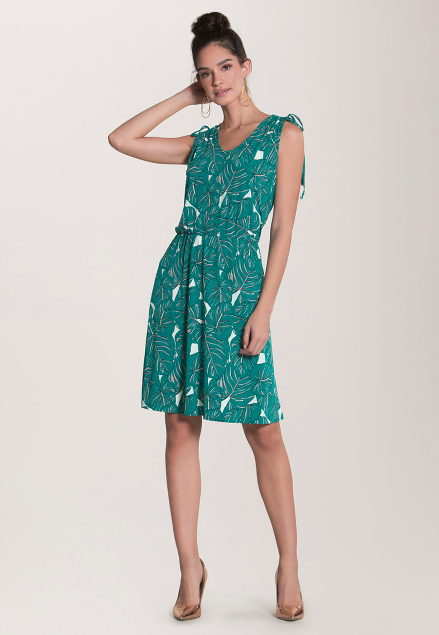Tara Dress in Rainforest