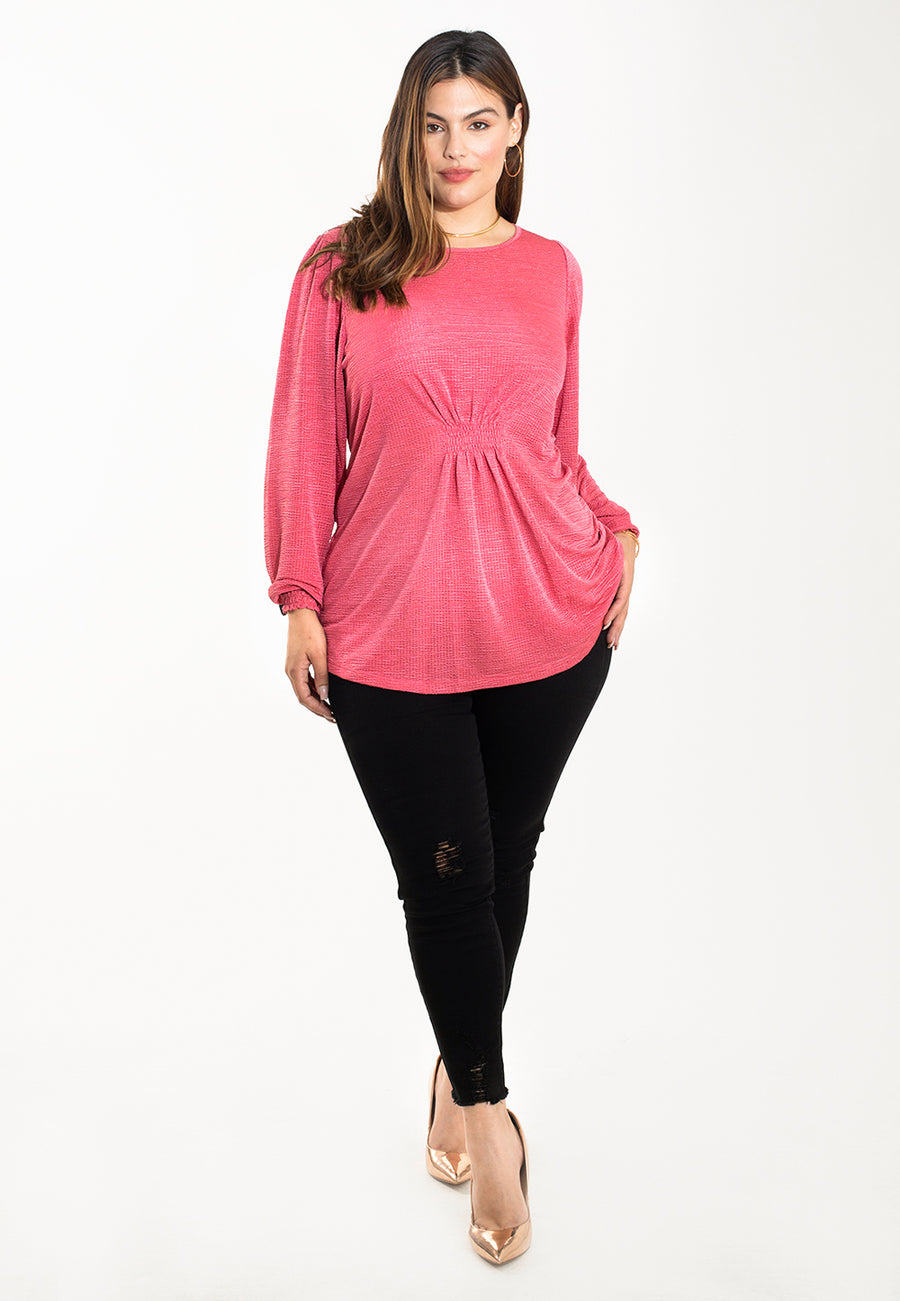 Everlyn Top in Spring Fling (Curve)