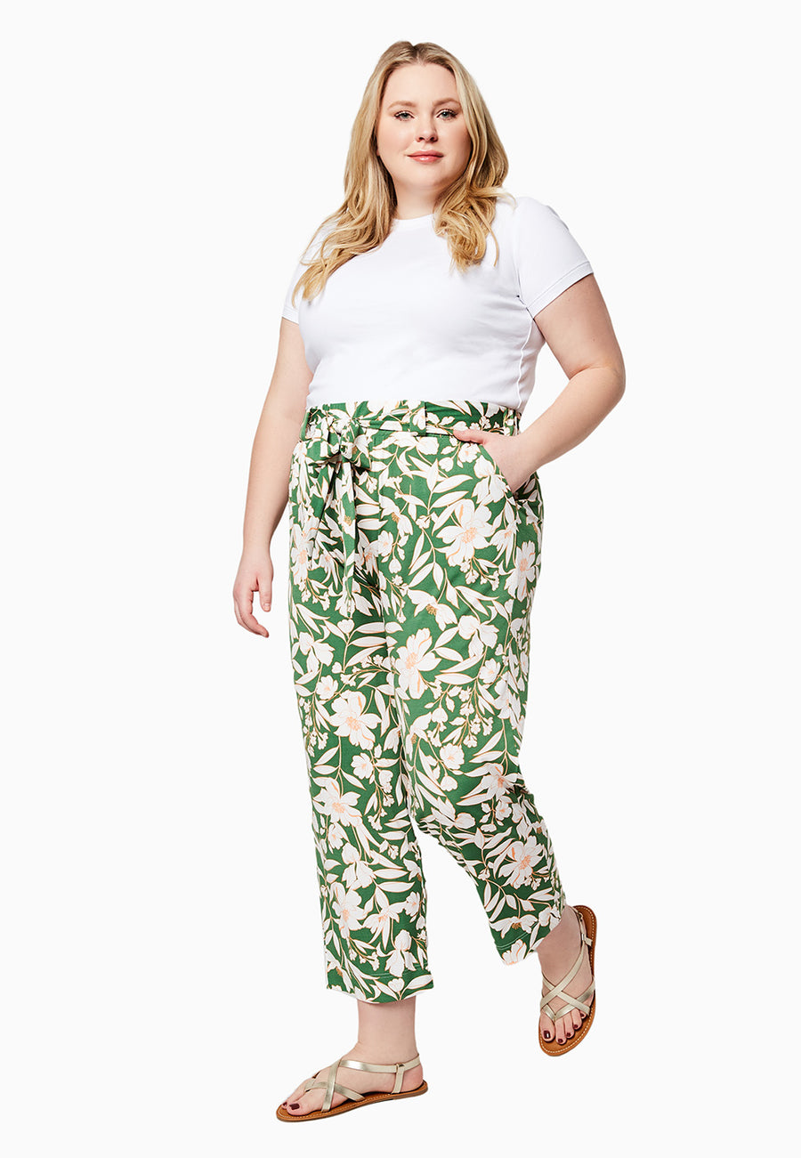 Kayle Pant in Juniper (Curve)
