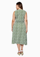 Cindy Dress in Garden Green (Curve)