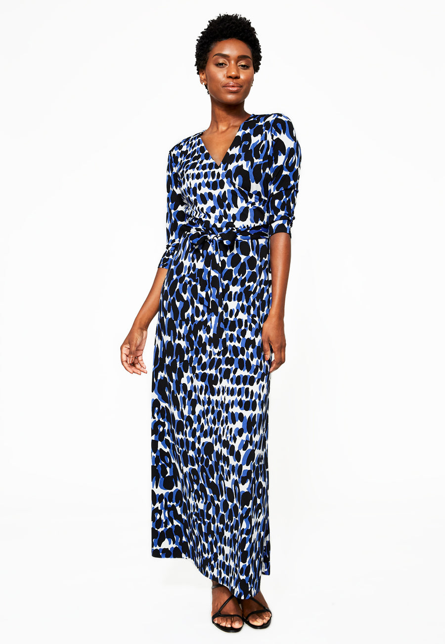 Leota Perfect Wrap Maxi Dress