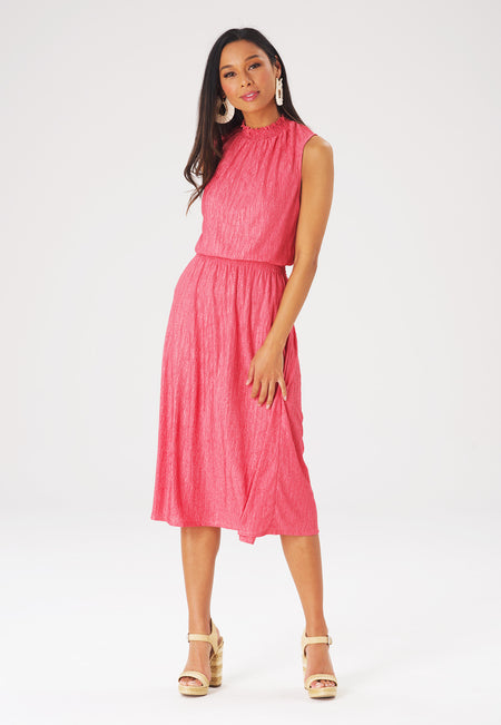 Leota Samantha Dress in Rapture Rose