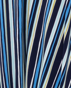 Athena Maxi Dress in Poolside Stripe Blue