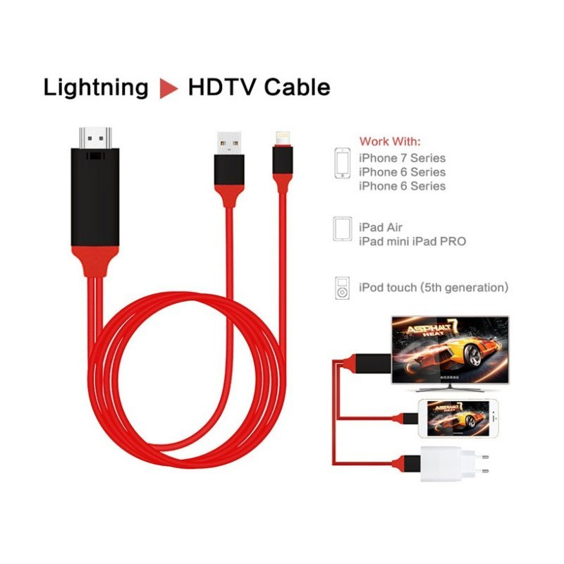 Ultra High Speed HDMI to TV Cable, Improve Your Quality of Display Videos