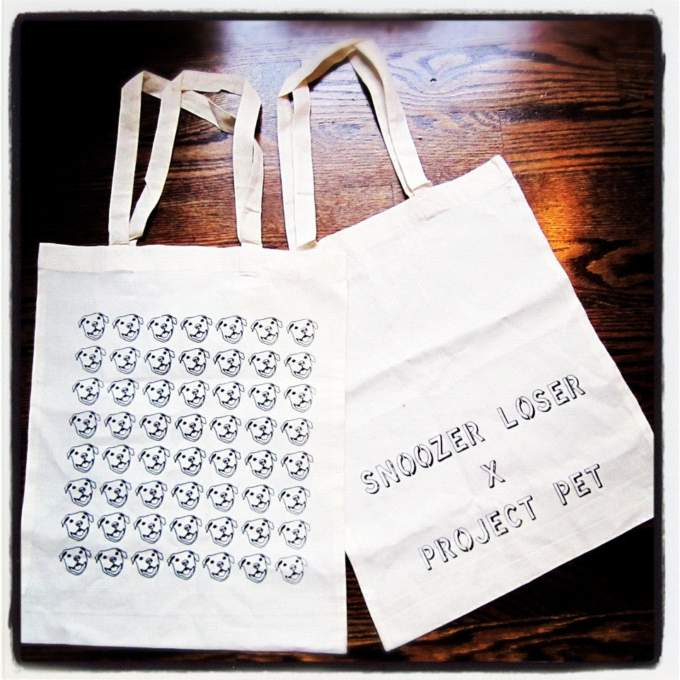 Snoozer Loser x Project Pet Tote