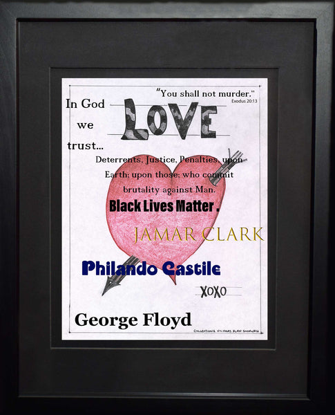 Black Lives Matter | Love XOXO | Art