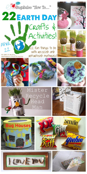 Bugabaloo How To: Earth Day Crafts and Activities