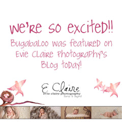 We've been featured on Evie Claire Photography's Blog!