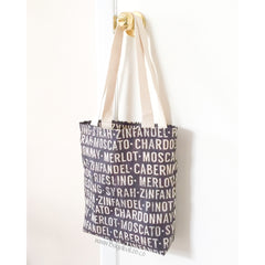 Swallowtail Tote - Canvas Wine Festival Tote Bag