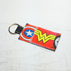 Key Fob - Superhero Lip Balm Holder
