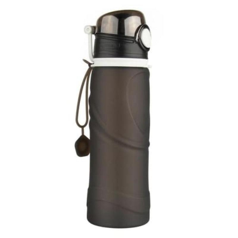 Collapsible Silicone Bottle 750 ml Sporty Types