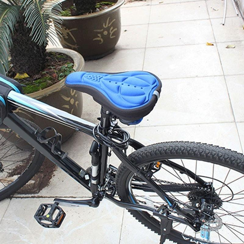 Cushioned Bike Saddle Cover Sporty Types