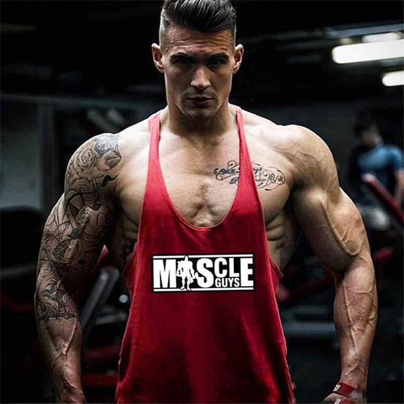 Men's Bodybuilding Tank Top Sporty Types