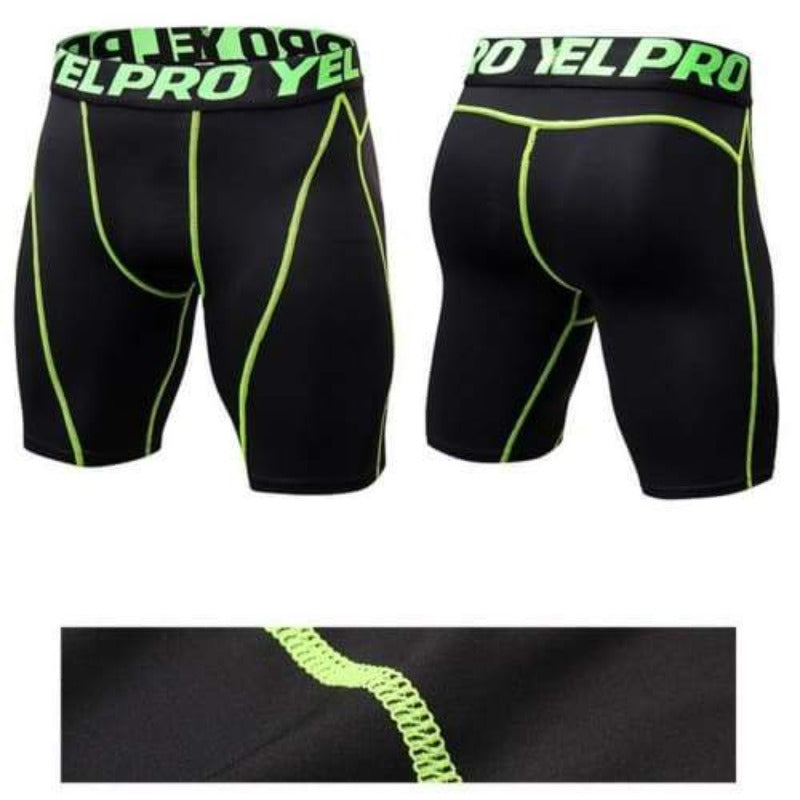 Men's Compression Shorts Sporty Types