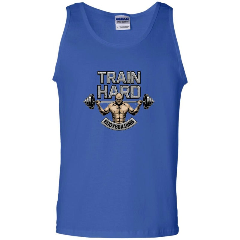 Men's Train Hard Bodybuilding Tank Top Sporty Types
