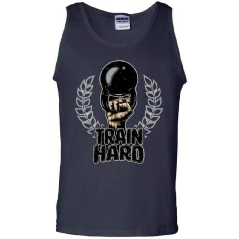 Men's Train Hard Kettlebell Tank Top Sporty Types