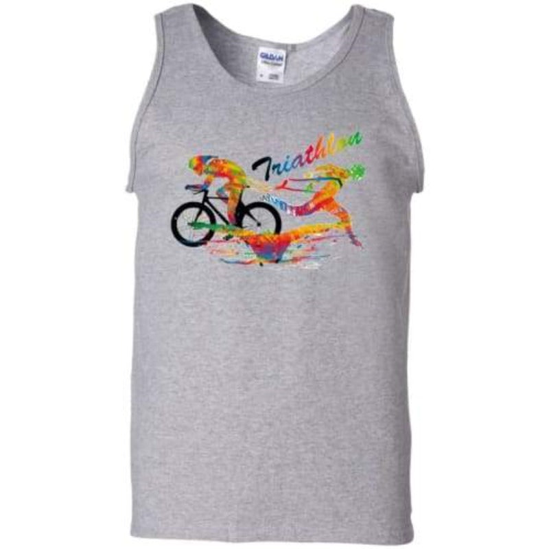 Men's Triathlon Tank Top Sporty Types