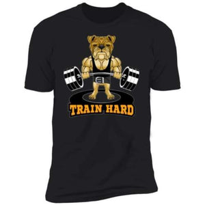Men's Weightlifting Bulldog Tee Sporty Types