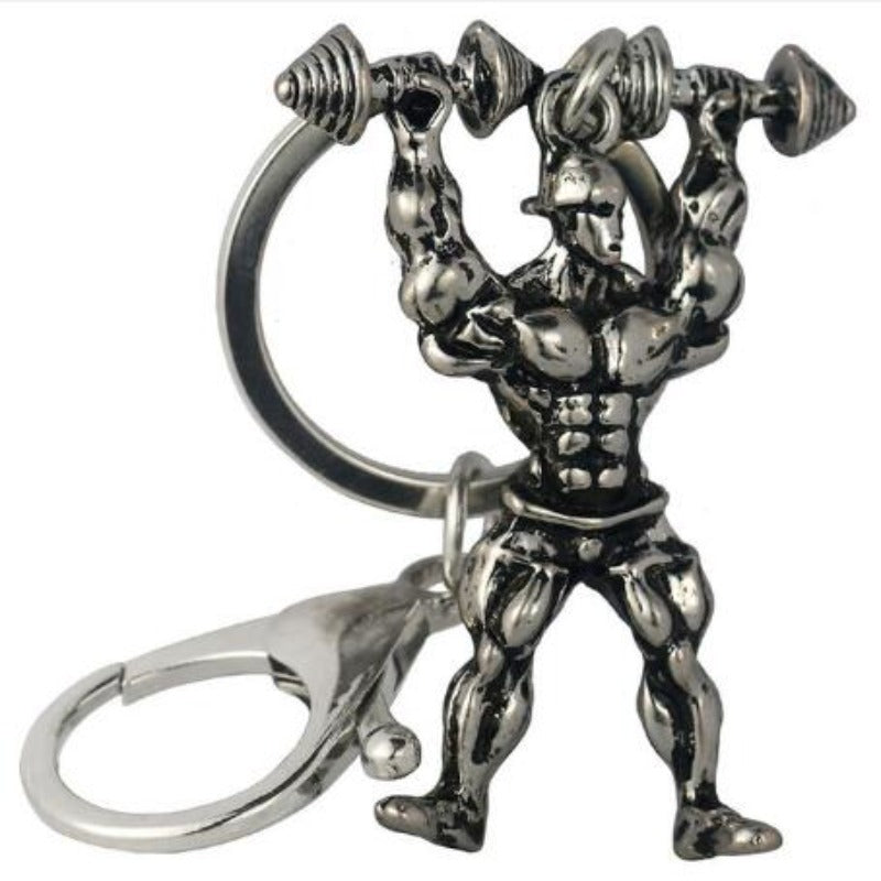 Strong Man Keyrings Sporty Types