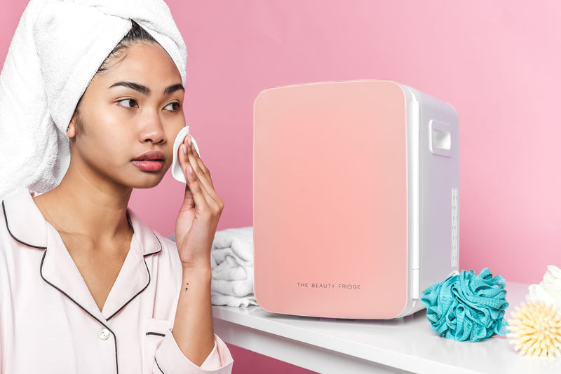 The Beauty Fridge PINK | Australia's First Beauty Fridge | Skincare Fridge | Mini Fridge | Cosmetic Fridge | Priceline