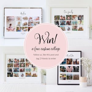 #PrintMyMemories - Win! a free custom collage