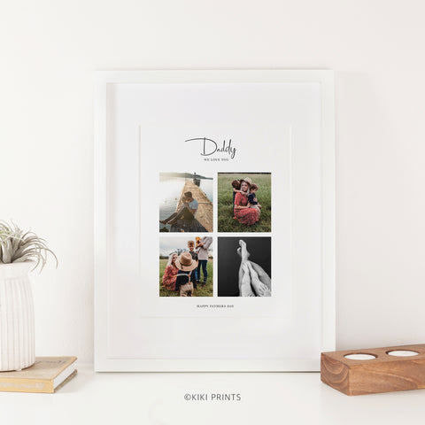 Father's Day photo collage gifts