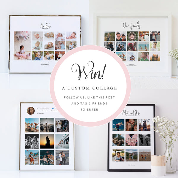 Competition, win a custom collage